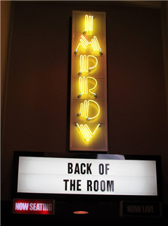 Back of the Room Birthday Bash