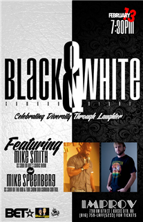 Black & White Comedy Night