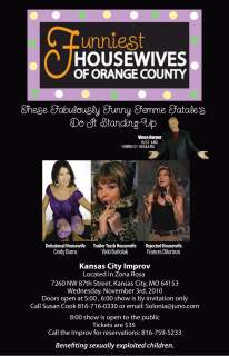 Funniest Housewives of Orange County Benefit