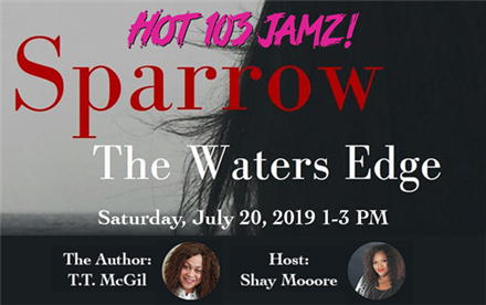 Sparrow: The Waters Edge - Book Signing