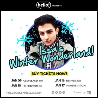 ISSA'S WINTER WONDERLAND VIP PACKAGE